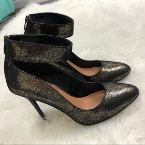 Renvy Shoes - Renvy • Ankle Strap Heels